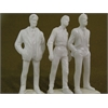 "Wee Scapes Architectural Model Human Figures - 1/2"" Male 3-Pack"