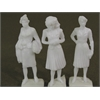 "Architectural Model Human Figures - 1/2"" Female 3-Pack"