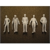 "Architectural Model Human Figures Male 1/4"" 5-Pack"