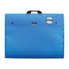 "Dekko Polypropylene Folio 23"" x 31"" Electric Blue"