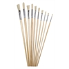 10-Piece Long Handle Acrylic Brush Value Set