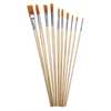 Heritage 10-Piece Long Handle Oil Brush Value Set