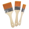 3-Piece Short Handle Gesso/Basecoat Brush Value Set