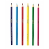 BINNEY & SMITH / CRAYOLA Long Barrel Colored Woodcase Pencils, 3.3 mm, 50 Assorted Colors/Set