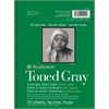 "5 1/2"" x 8 1/2"" Toned Gray Wire Bound Sketch Pad"