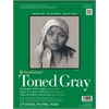 "Strathmore 400 Series 11"" x 14"" Toned Gray Wire Bound Sketch Pad"