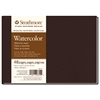 "Strathmore 400 Series 8 1/2"" x 5 1/2"" Sewn Bound Watercolor Art Journal"