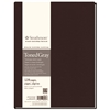 "Strathmore 400 Series 8 1/2"" x 11"" Sewn Bound Toned Gray Sketch Art Journal"