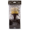 Flat White Bristle Brush Set