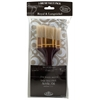 Angular White Bristle Brush Set