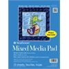 "9"" x 12"" Tape Bound Mix Media Pad"