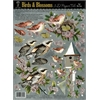 3-D Papier Tole Die Cuts Birds and Blossoms
