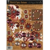 Hot Off the Press 3-D Papier Tole Die Cuts Rich and Spicy Autumn