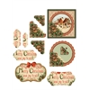 Hot Off the Press 3-D Papier Tole Die Cuts Christmas Cottages