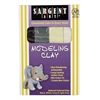 Non-Hardening Modeling Clay Natural 4-Pack