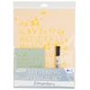 Blue Hills Studio Value Lettering Stencil Set Elementary