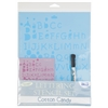 Blue Hills Studio Value Lettering Stencil Set Cotton Candy