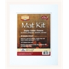 "11"" x 14"" Pre-Cut Double Layer White Mat Kit"