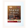 "11"" x 14"" Pre-Cut Single Layer White Mat Kit"