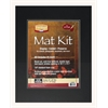 "Heritage Standard Series 16"" x 20"" Pre-Cut Double Layer Black Mat Kit"