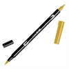 Tombow Dual Brush ABT Pen Yellow Gold
