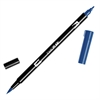 Tombow Dual Brush ABT Pen Navy Blue