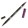 Tombow Dual Brush ABT Pen Dark Plum