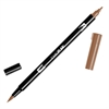 Tombow Dual Brush ABT Pen Saddle Brown