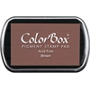 ColorBox Full Size Ink Pad Brown