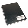 Cachet 9 x 12 Classic Black Wirebound Sketch Book