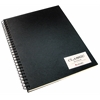 11 x 14 Classic Black Wirebound Sketch Book