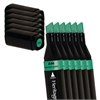 Heritage A-Line Alcohol Marker Horizon Green 6/Box