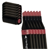 Heritage A-Line Alcohol Marker Wine Red 6/Box
