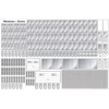 Model-Building Materials Windows & Doors (Shaded Assortment)