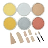 PanPastel Ultra Soft Artists' Painting Pastel Metallics 6-Color Set