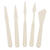 Plastic Painting/Palette Knife 5-Piece Set
