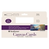 SLIM SIZE CANVAS CARD 10PK