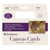 Strathmore FULL SIZE CANVAS CARD 10PK