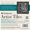 "Strathmore 6"" x 6"" Coal Black Artist Tiles"
