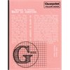 "Clearprint Vellum Gridded Sketchbook 8 1/2"" x 11"""