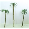 "Architectural Model Assorted Palm Trees 1"" to 3"" 4-Pack"