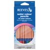 Reeves Watercolor Pencil 12-Color Set