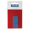Milan Battery Powered Eraser Blue Refills