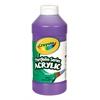 Acrylic Paint Violet