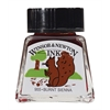 Winsor & Newton Drawing Ink 14ml Burnt Sienna