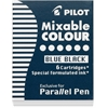Parallel Pen Mixable Colour Refill 12-Pack Blue Black