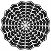 """6"""" x 6"""" Journal and Design Template Web Doily"""
