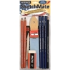 General's SketchMate Charcoal & Graphite Drawing Kit