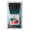 PITT Artist Brush Pen Basic 6-Color Set