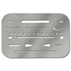 Alvin Stainless Steel Erasing Shield